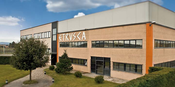 Etrusca S.r.l.- Headquarters of Bathroom Furniture Company in Colle di Val d'Elsa, Siena (Italy)